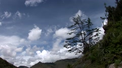 Stock Video Footage of clouds in Andes of Peru near Cusco
