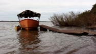 Stock Video Footage of Old boat