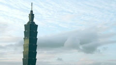Taipei 101 Tower.HD Stock Footage