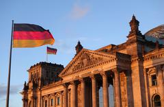Germany - Berlin - Reichstag - stock photo