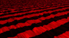 Abstract stripes in red on black - stock footage