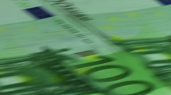 Money printing machine Stock Footage