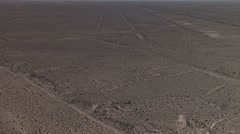Nazca Lines in Peru Stock Footage