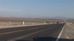 Panamericana Road near Nazca in Peru Stock Footage