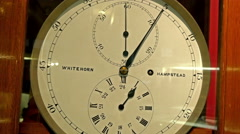 Another kind of clock showing the number 5 10 15 etc Stock Footage