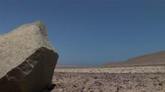 Paracas National park in Peru (Desert near the pacific coast) Stock Footage
