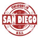 Stock Illustration of San Diego Stamp