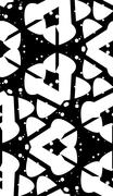 Stock Illustration of Curved Shape Monochrome Pattern