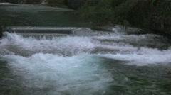 Waterfall and river wellhead full hd Stock Footage