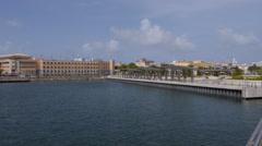 WATERFRONT PASSIVE RECREATIONAL PARK - Bahia Urbana - Old San Juan 6 Stock Footage