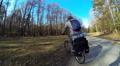 Bicycle Traveler HD Footage