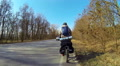 Bicycle Traveler HD Footage