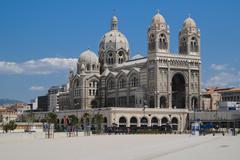Marseille Cathedrale de la Major Stock Photos