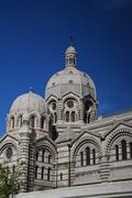 Cathédrale Sainte-Marie-Majeure de Marseille Stock Photos