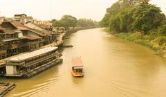 Traditional transport by boat Stock Photos