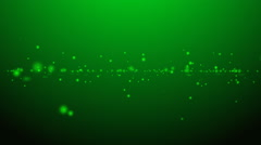 Green abstract animated background Stock Footage