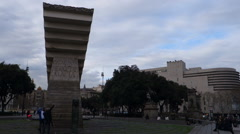 Barcelona - Spain - Monument Stock Footage
