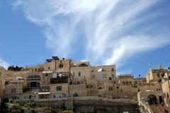 Types of Jerusalem, Western Wall. - stock photo