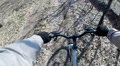 Cross country mountain biking Point Of View POV Footage
