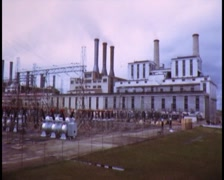 Yallourn Open Cut Mine/ Power Station Stock Footage
