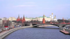 Moscow. Kremlin Stock Footage
