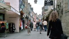 Concarneau France Stock Footage