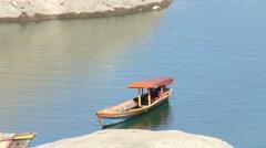 Passenger Leisure Boat Stock Footage
