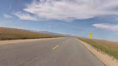 Country Road Drive 03 Stock Footage