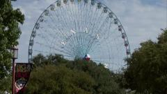 Stock Video Footage of Texas Star Ferris Wheel at the State Fair of Texas