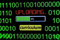 Upload curriculum Stock Photos