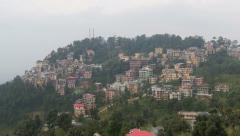McLeod Ganj in Himachal Pradesh, India Stock Footage