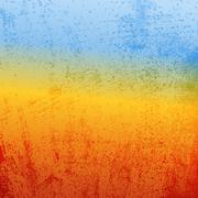Abstract Grunge - Desert - stock illustration
