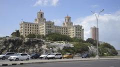 National Hotel - Hotel Nacional de Cuba Havana, Cuba Stock Footage