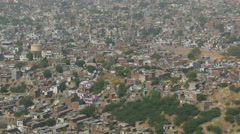 Residential housing in Jaipur city in India Stock Footage