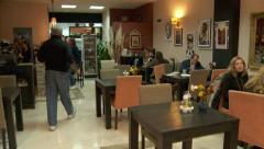 Sinhalese restaurant, cafe interior Stock Footage