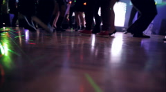 People Dancing on the Dance Floor - stock footage