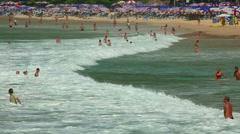 Nai Harn beach Stock Footage