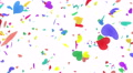 Heart petals rainbow tornado Cw 4k 4k or 4k+ Resolution