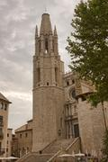 Cathedral in Girona Stock Photos