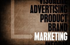 Marketing - stock illustration