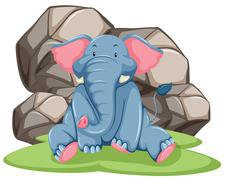 Elephant Stock Illustration