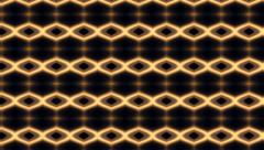 Amazing abstract latticed pattern in black, yellow and brown colors Stock Footage