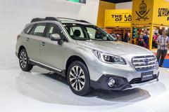 Stock Photo of Subaru Outback 2015