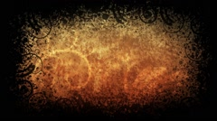 Grungy background, black background Stock Footage