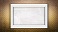 grungy frame - stock footage
