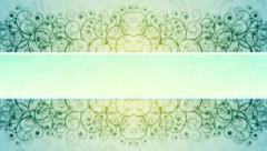 Ornamented background Stock Footage