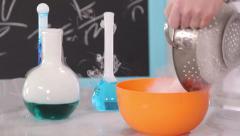 Chemistry Class Stock Footage