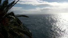 MADEIRA, PORTUGAL NOVEMBER 2014: A view of the north Atlantic ocean. Stock Footage