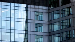 Luxury centre of management and trading in the centre of the business district - stock footage