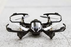 Stock Photo of Micro quadcopter